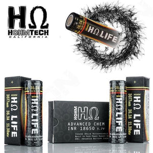 HohmLIFE 18650 21.5A 40.6A 3000mAh Batteries