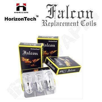 Horizontech Falcon Series Replacement Coils 0.2ohm F1 Falcon Coil - 30% wood pulp with 70% cotton / 3 Pack