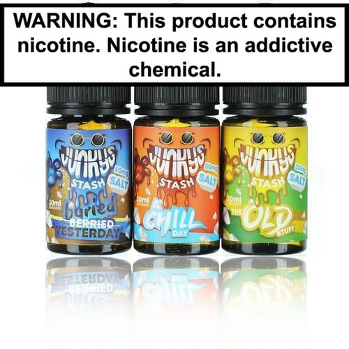 Junky's Stash Salts Collection 30ml Nic Salt Vape Juice-1