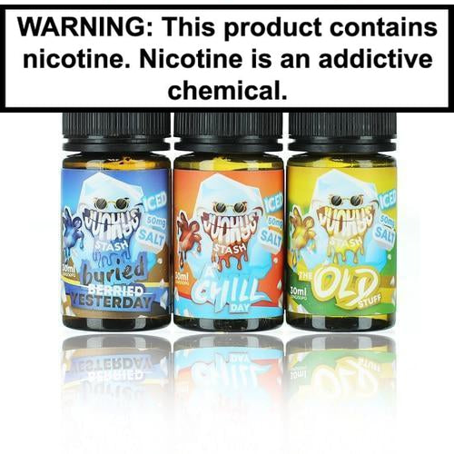 Junky's Stash Salts Collection 30ml Nic Salt Vape Juice-2
