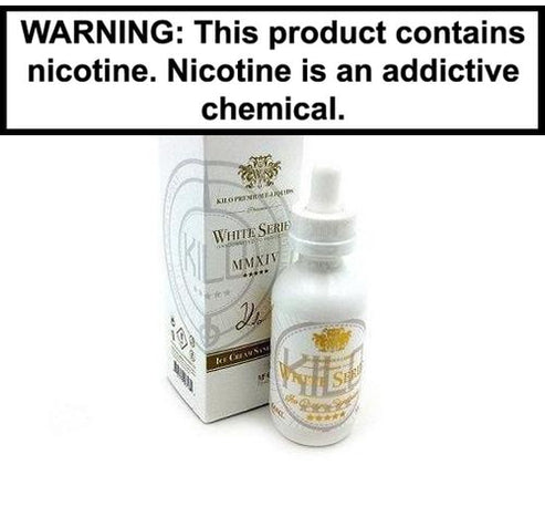 Kilo Black & White Series Collection 60ml Vape Juice Cinnamon Roll 0MG
