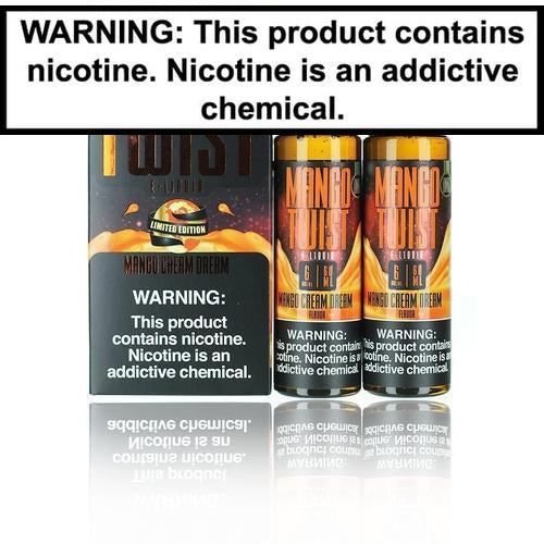 Mango Twist Collection 2x60ml Vape Juice