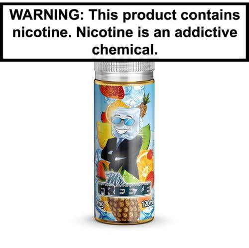 Mr. Freeze Original 120ml Vape Juice 0MG