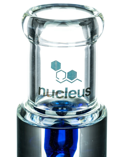 Nucleus Glycerin Coil w/ Colored Inline Perc Waterpipe-10