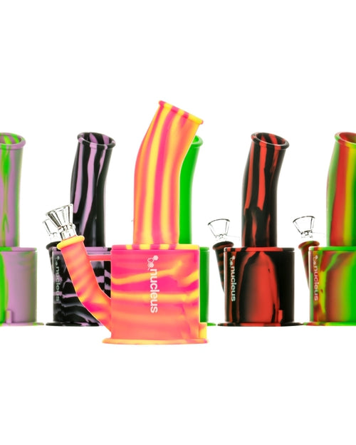 Nucleus Silicone Oil Can Waterpipe-17