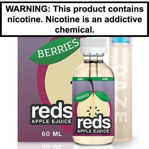 Reds Apple E-Juice Berries 60ml Vape Juice 0MG
