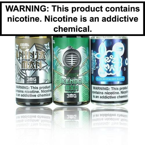 Sengoku Vapor Collection 100ml Vape Juice Ninja Man 0MG