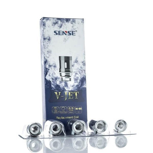 Sense V-Jet Series Replacement Coils 5 Pack-2