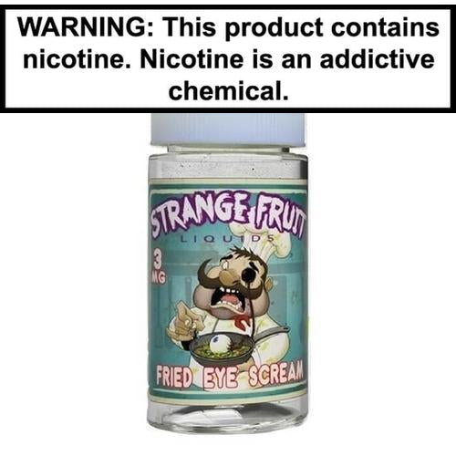 Strange Fruit Vape Juice Fried Eye Scream 100ml