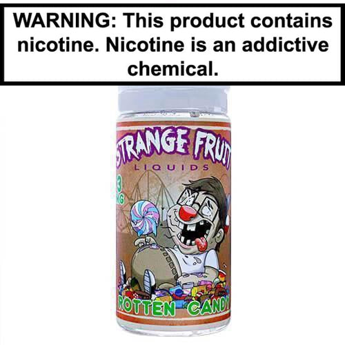 Strange Fruit Vape Juice Rotten Candy 100ml