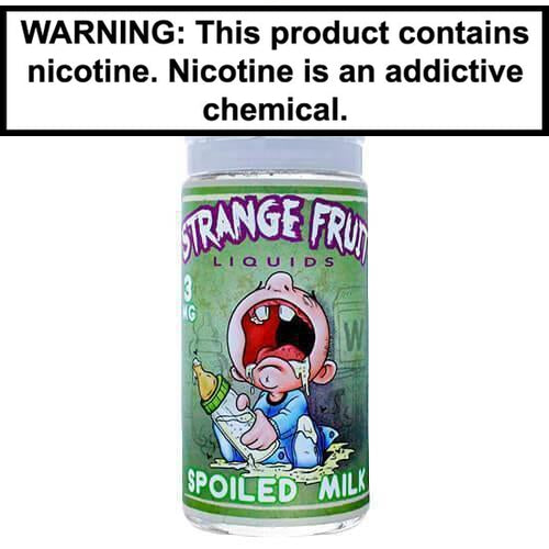 Strange Fruit Vape Juice Spoiled Milk 100ml