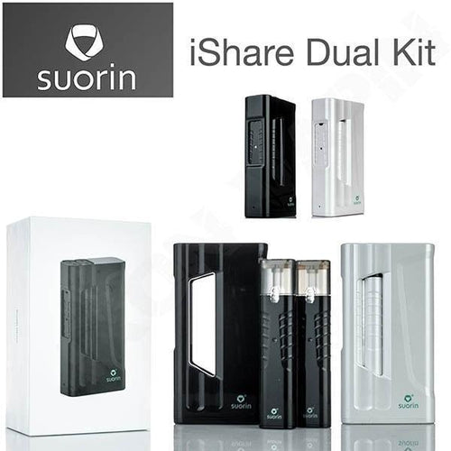 Suorin iShare Twin Ultra-Portable System Kit with Power Bank White