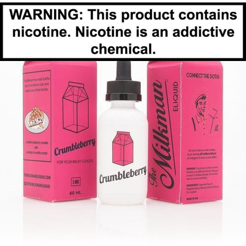The Milkman Crumbleberry E-Liquid 60ml