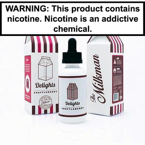 The Milkman Delights Truffleberry Vape Juice 60ml 0MG