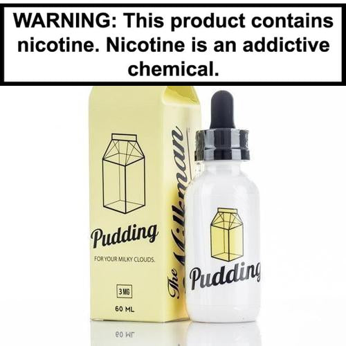 The Milkman Pudding 60ml Vape Juice