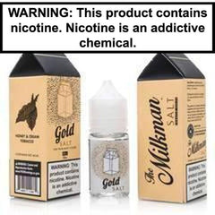 The Milkman Salts Gold Nic Salt Vape Juice 30ml 40MG