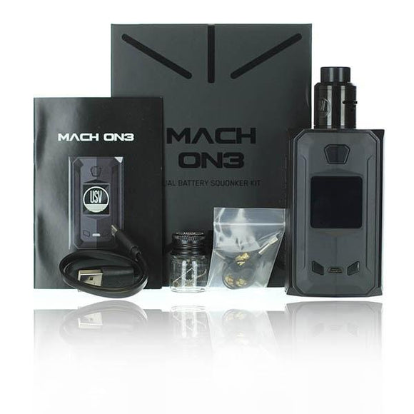 USV United Society of Vape Mach ON3 (One) Squonk Kit