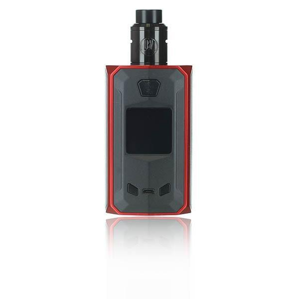 USV United Society of Vape Mach ON3 (One) Squonk Kit Black & Red / No Thank You