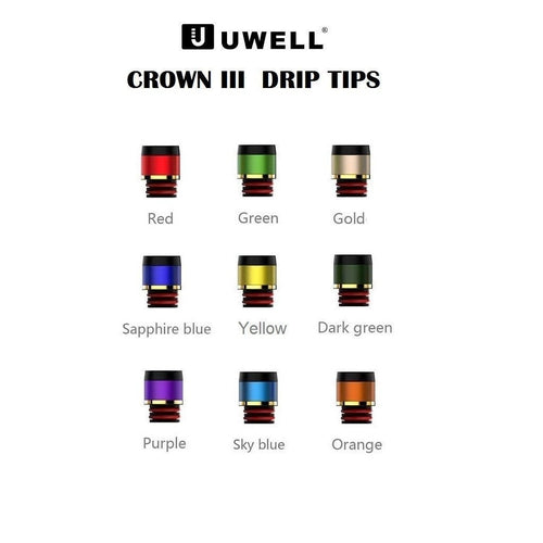 Uwell Crown 3 Replacement Drip Tips-1