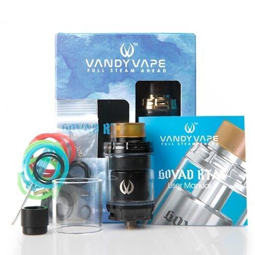 Vandy Vape Govad RTA 26mm Tank Black