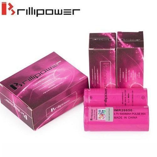 vendor-unknown Accessories Brillipower 85a 5000mAh 26650 Batteries - Two Pack