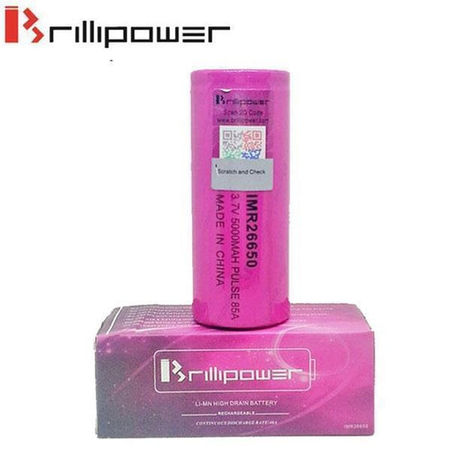 Brillipower 85a 5000mAh 26650 Batteries - Two Pack-3