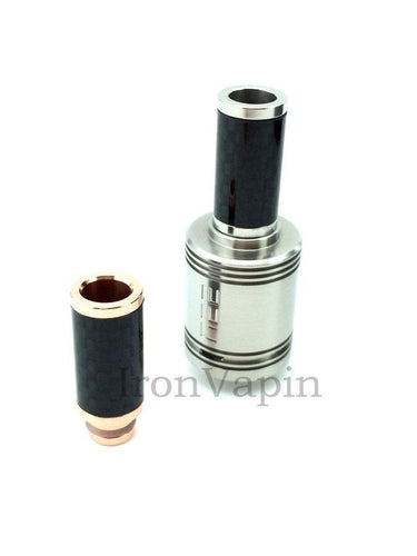 Tall 24mm Carbon Fiber Drip Tip-1