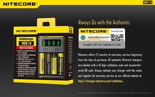 Nitecore i4 Intellicharger Battery Charger-2