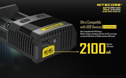 Nitecore SC2 Superb Battery Charger-3