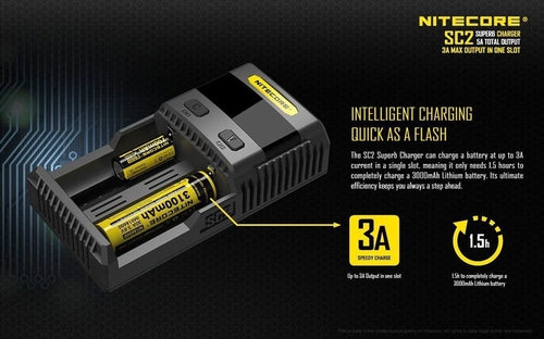 Nitecore SC2 Superb Battery Charger-4