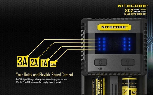 Nitecore SC2 Superb Battery Charger-8