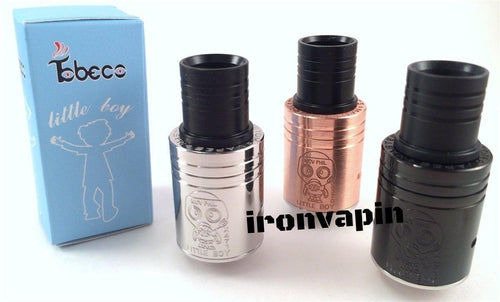 Tobeco Atomic Little Boy 22mm RDA Black