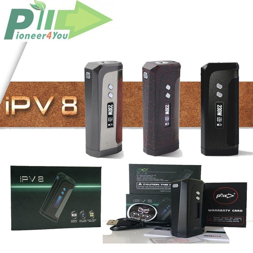 vendor-unknown By Brand Black IPV8 230W TC Box Mod By Pioneer4You