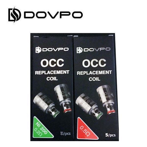 Dovpo OCC Series Replacement Coils - Kanthal or Ni200 Ni200 0.2 Ohm