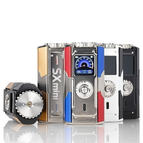YiHi SX Mini T Class SX580J 200W Box Mod Black Shadow
