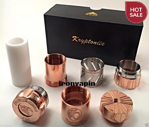 Kryptonite 26650 Mechanical Mod Clone