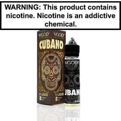 VGOD Vape Juice Cubano 60ml-1