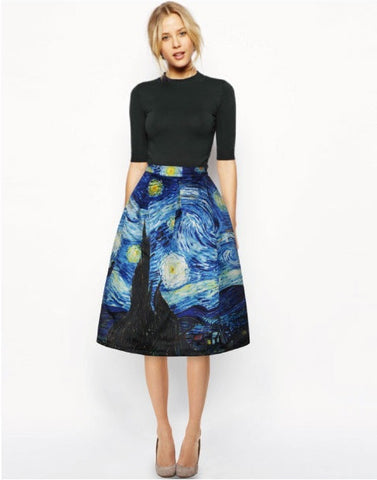 ffab0a65b4 Starry Night Skirt – Chicific
