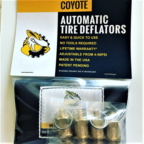 Coyote Enterprise Tire Deflators