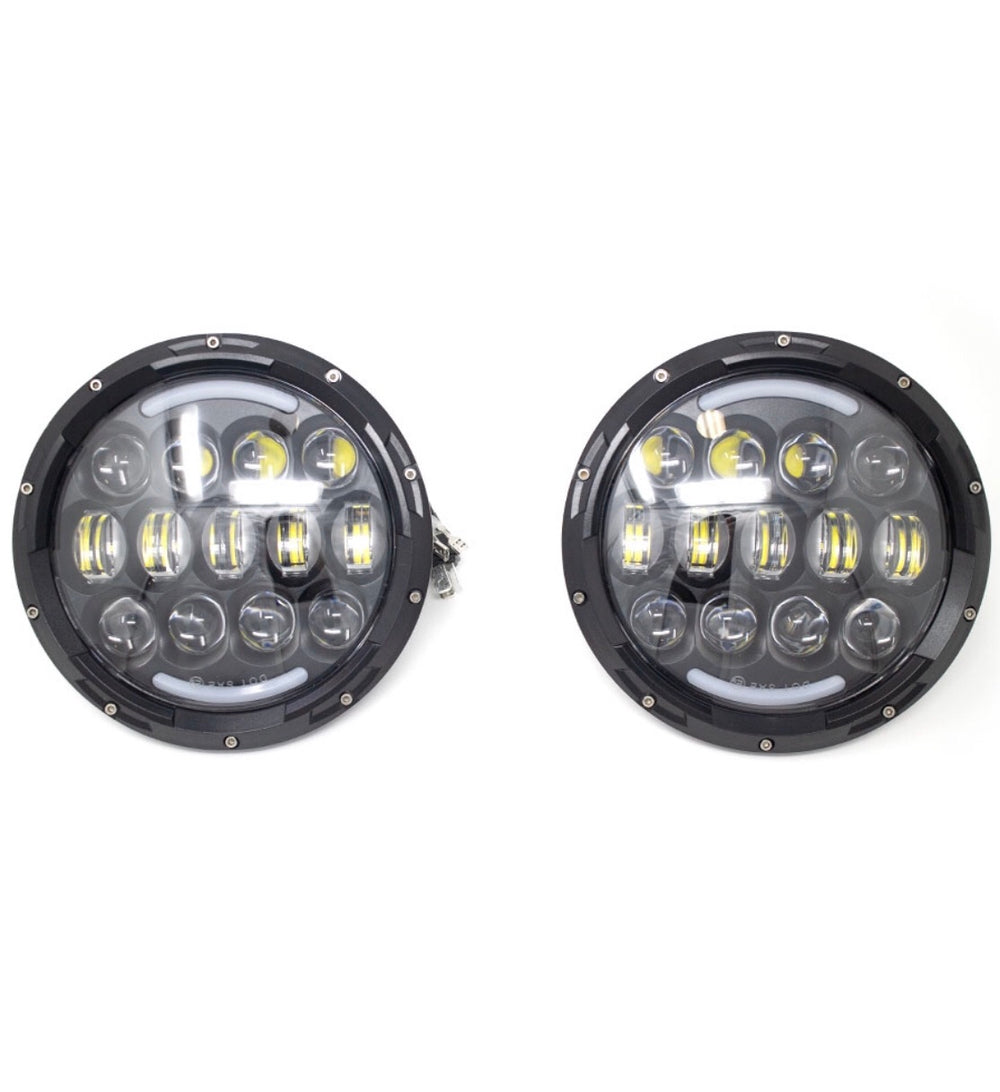 "7"" LED headlight for Jeeps"