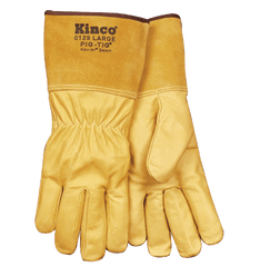 Tig Welders, Grain Pigskin Gloves Kinco 0129  (one dozen)