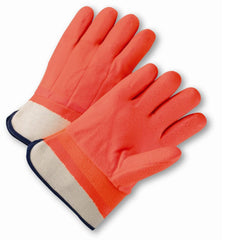 West Chester 1017ORF Rubberized Orange Foam Gloves (One Dozen)