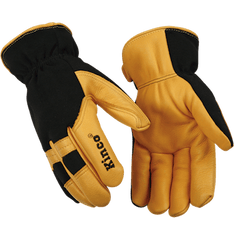 Kinco 101HK Lined Pro Series Deerskin Mechanics Gloves (one dozen)