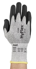 Ansell 11-435 HyFlex Cut-Resistant Water-based Polyurethane and NBR Enhanced Gloves (One Dozen)