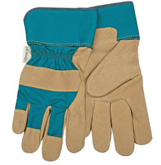 Kinco 1412W Woman's Suede Pigskin Leather Palm Gloves (one dozen)