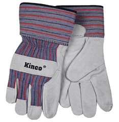 Kinco 1500-4 Leather Suede Palm Gloves (one dozen)