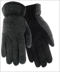 Red Steer 150 Suede Deerskin Kid's Gloves (One Dozen)