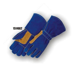 Majestic Split Cowhide Kevlar Welding Gloves 1514BLT (one dozen)