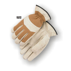 Majestic 1572 Cowhide Fleece Lined Drivers Gloves (one dozen)