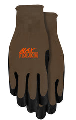 Midwest 1701M Max Touch-Screen Gripping Gloves (One Dozen)